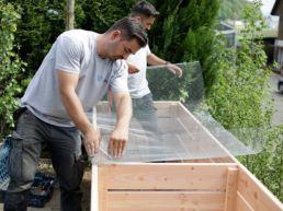 Hochbeet Gitter gegen Wühlmäuse
