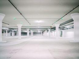 Reinigung Einstellhalle Garage