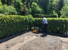 Gartensitzplatz professionell