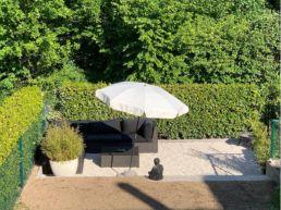 Zen Gartensitzplatz